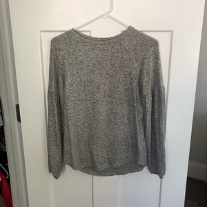 Old Navy Sweater With Puff Sleeves